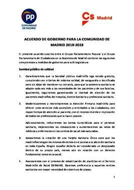 Acuerdo PP-Cs