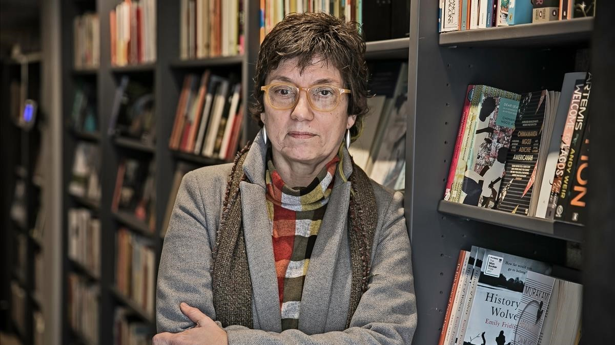 Antònia Carré-Pons, que publica el volumen de relatos sobre la vejez 'Com s'esbrava la mala llet'.