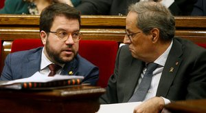 La Generalitat va quintuplicar el 2019 el dèficit que tenia establert