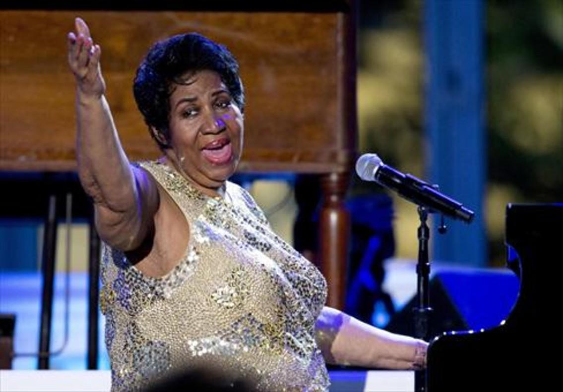La cantante Aretha Franklin se encuentra en estado de gravedad