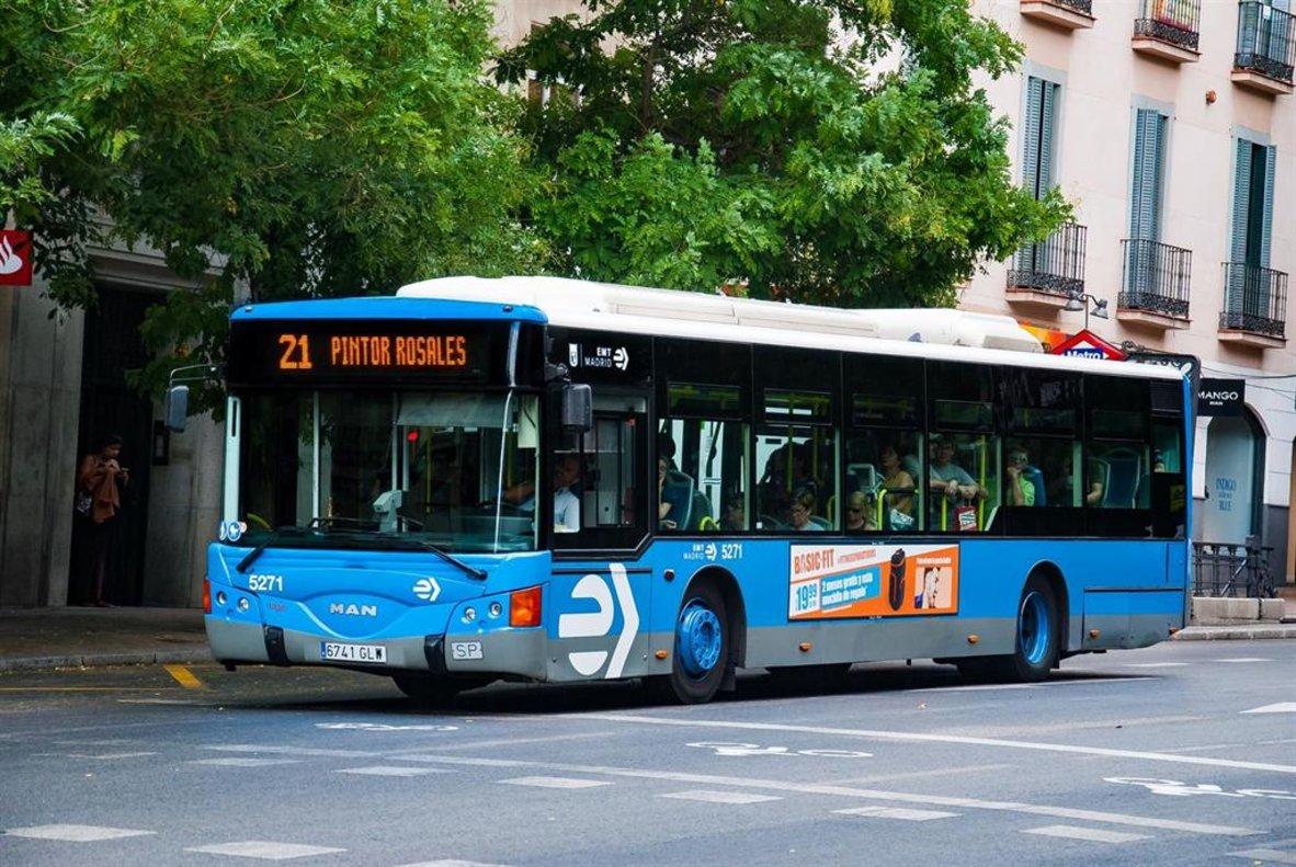 Empresa Municipal de Transportes de Madrid.