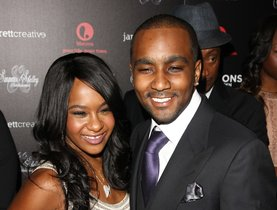 FILE - In this Oct. 22, 2012, file photo, Bobbi Kristina Brown and Nick Gordon attend the premiere party for The Houstons On Our Own at the Tribeca Grand hotel in New York. Gordon, ex-partner of the late Bobbi Kristina Brown, has died. He was 30. Gordon's attorney Joe S. Habachy confirmed his client's death Wednesday, Jan. 1, 2020. Brown was the daughter of Whitney Houston. (Photo by Donald Traill/Invision/AP, File)