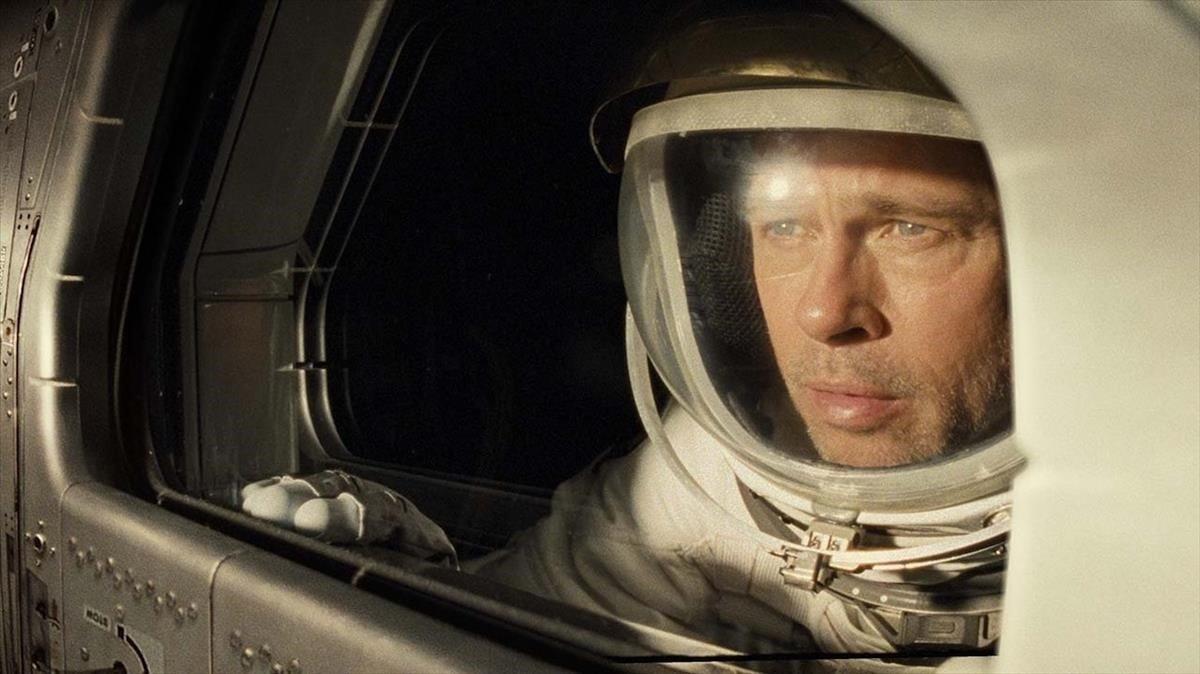 Brad Pitt, en un fotograma de 'Ad astra', de James Gray