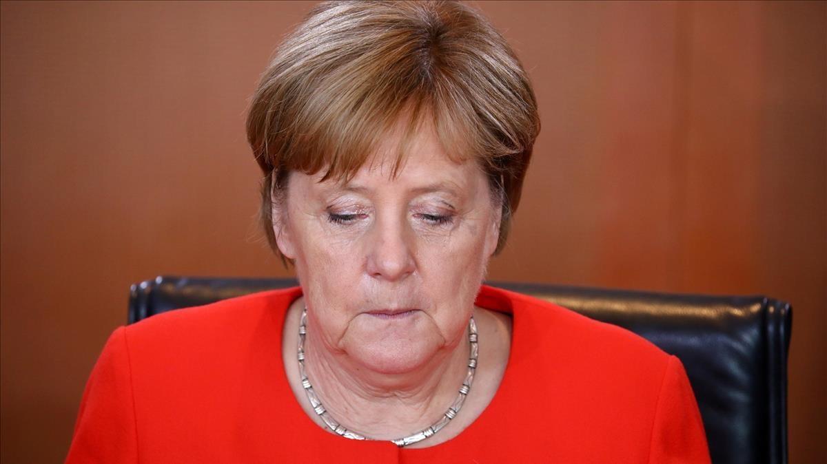 La cancillera alemana Angela Merkel.