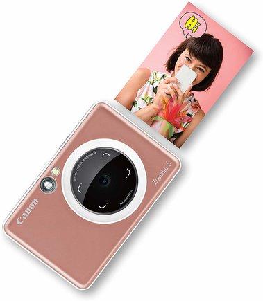 Nueva cámara Canon con función de impresión.