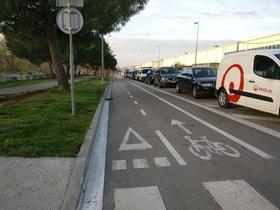 Un tramo de la avenida de La Llana será para peatones entre las 18 y las 23 h.