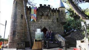 La Casadel Terror, en el Parque de atracciones del Tibidabo.
