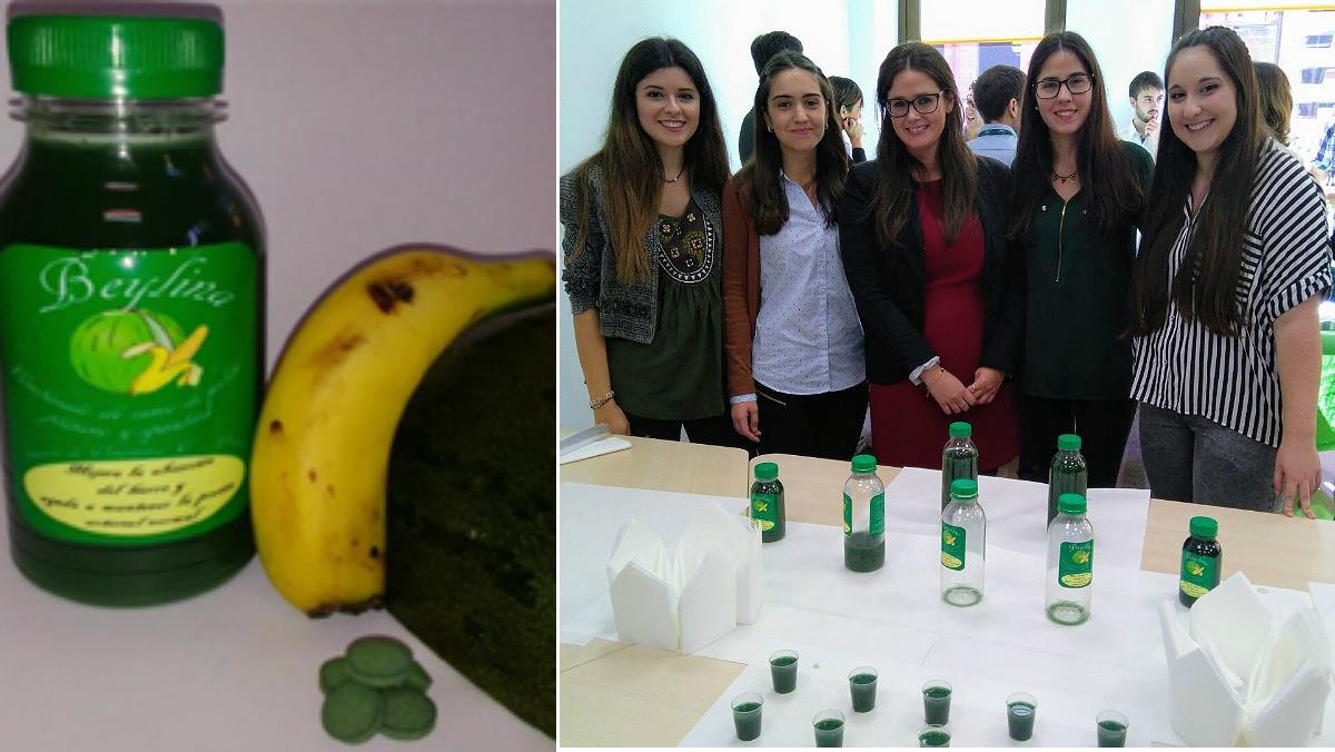Cinco estudiantes de León han dado con un zumo de frutas para personas con un alto rendimiento físico.