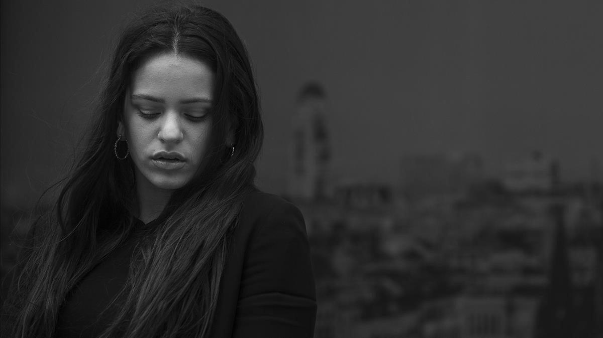 Rosalía, en el 2017, antes del boom.