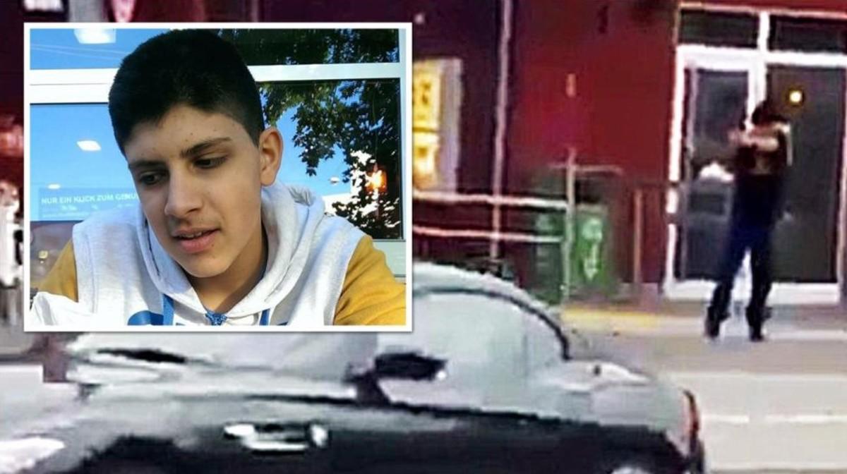 Foto de AliSonboly,el asesino de Múnich, difundida por el diario Bild.