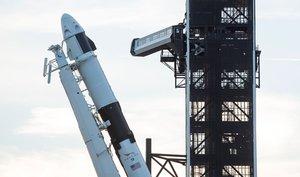 El cohete tripulable Crew Dragon.