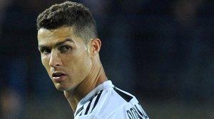 Cristiano Ronaldo en un partido reciente.