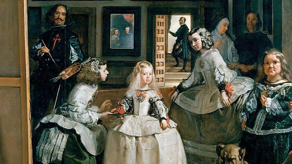 El cuadro Las Meninas, de Velázquez.