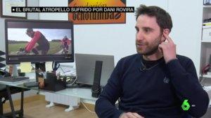 Dani Rovira hablando con 'laSexta Noticias'.