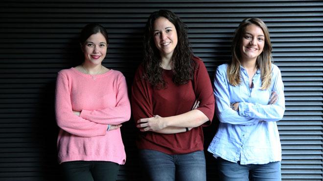Yaiza Torres, Carla Garcia e Irene Llorente debaten sobre sus perspectivas en el mundo laboral