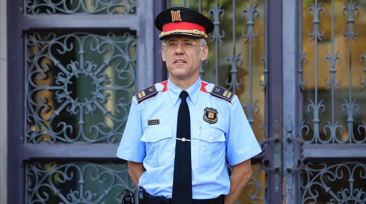 El director de los Mossos dEsquadra,Miquel Esquius.