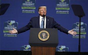 Donald Trump durante un evento público.