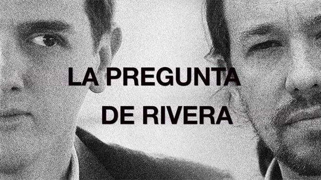 La pregunta de Albert Rivera