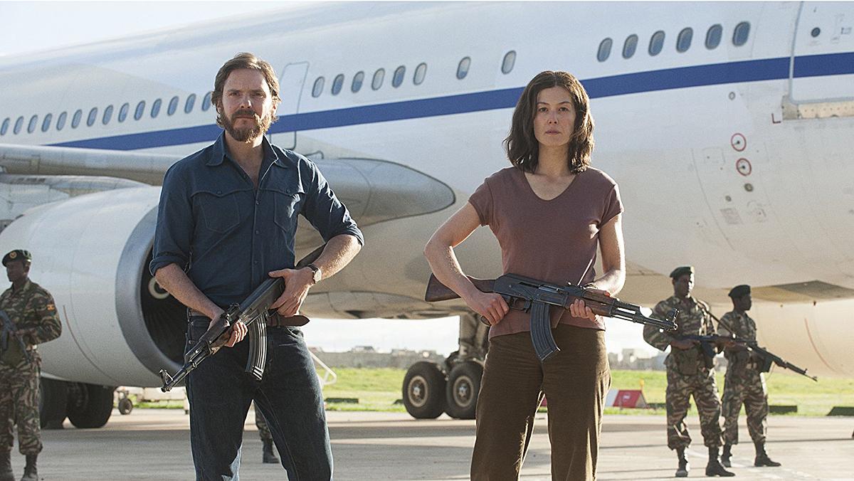 Tráiler de 7 días en Entebbe (2018)