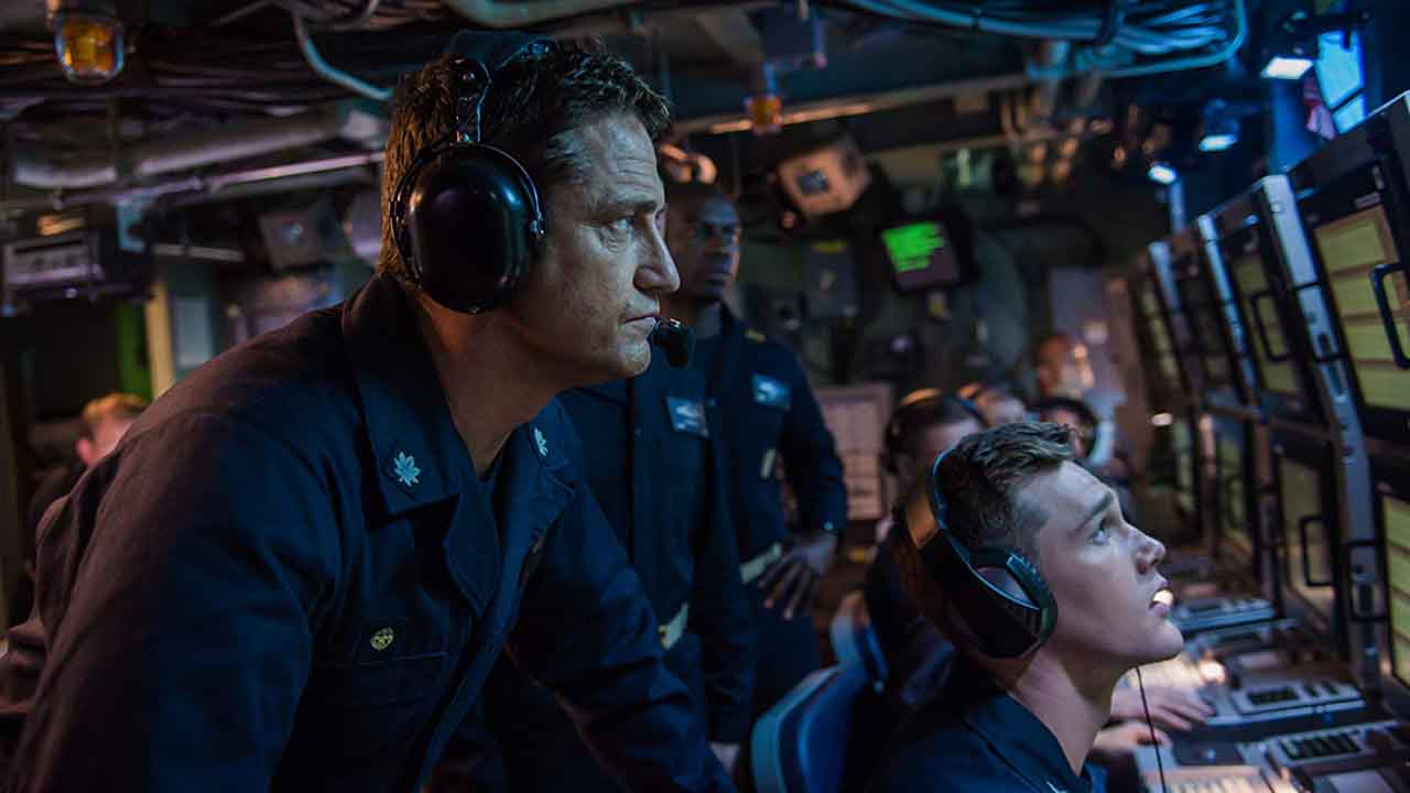 Tráiler de Hunter killer (2018)