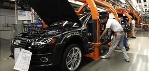 Fábrica de Audi en Ingolstadt (Alemania).