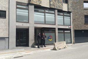 Fachada de la Federación Andorrana de Fútbol.