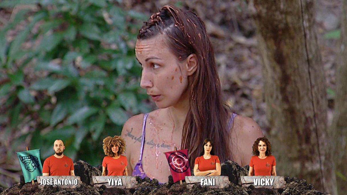 Fani, salvada en 'Supervivientes 2020: Tierra de nadie'.