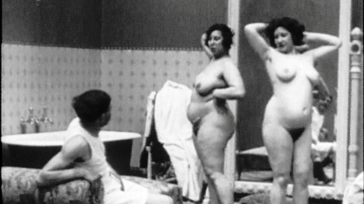 Fotograma de una de las películas porno filmadas para Alfonso XIII
