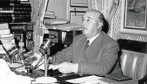 Francisco Franco, al Pardo.