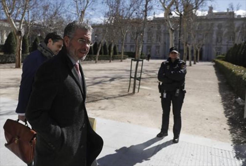 Francisco Granados, el pasado octubre, ante la Audiencia Nacional.