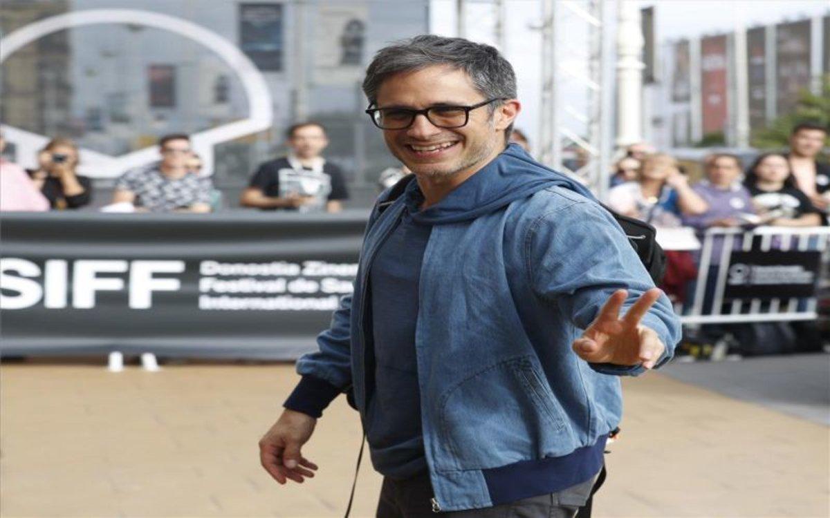 El actor y director mexicano Gael García Bernal en el Festival de Cine de San Sebastián.