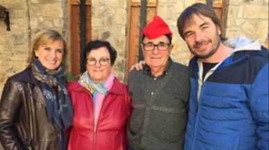 Gemma Nierga charla con los padres de ocho famosos en TV-3