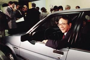 Mor TatsuroToyoda, expresident de Toyota i responsable de la internacionalització de la firma