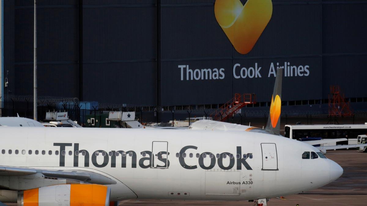 El grupo de viajes Thomas Cook entra en suspensión de pagos.