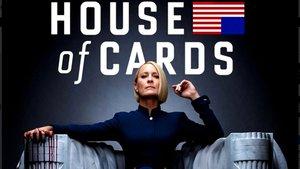 La actriz Robin Wright, en una imagen promocional de la sexta y última temporada de'House of cards'.