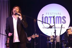 Antonio Carmona, durante su actuación en la sala Cotton Club del Casino de Barcelona el pasado sábado 4 de febrero.
