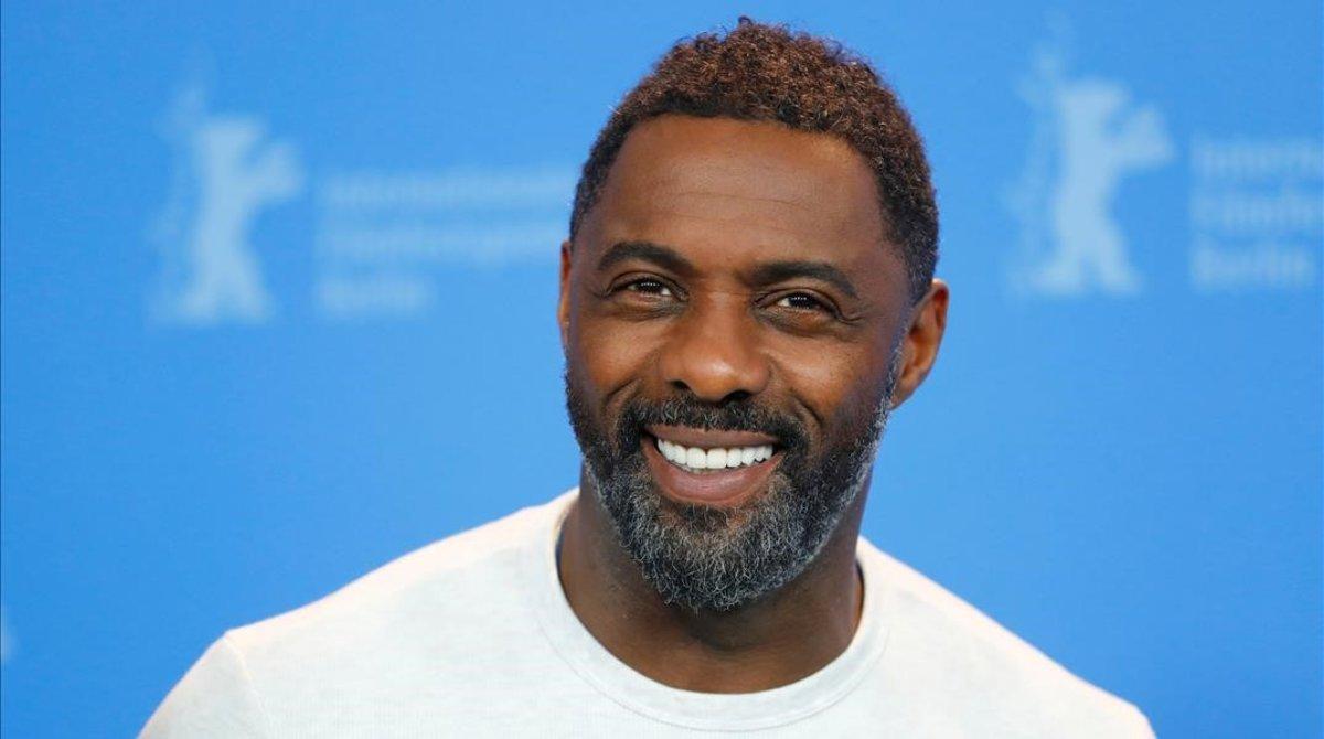 El actor Idris Elba.