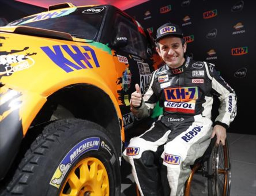 Isidre Esteve concluyó su cuarto Dakar en coches.