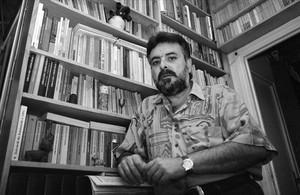 Jaume Fuster, fotografiado en 1993.