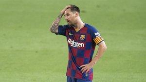 Patètic comiat del Barça del seu títol de campió