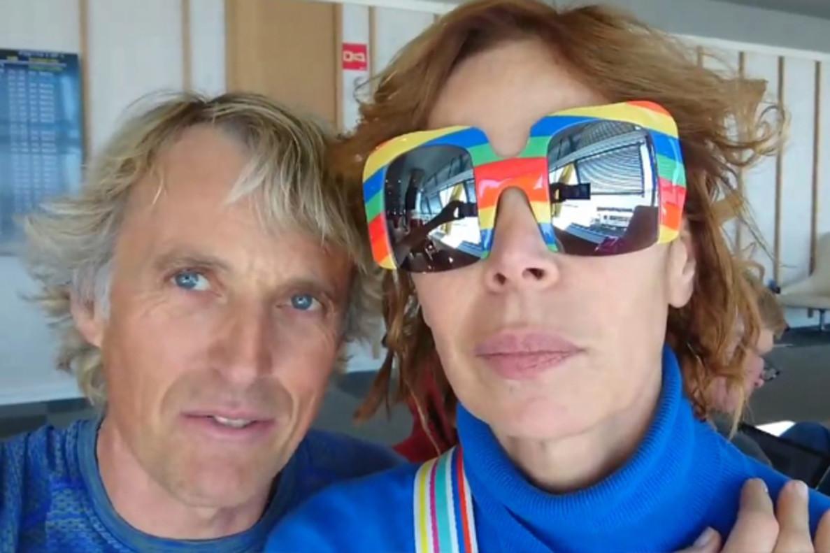 Ágatha Ruiz de la Prada se va de expedición a Costa Rica con Jesús Calleja