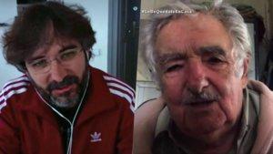 Jordi Évole hablando con José Mujica en 'Lo de Évole'.