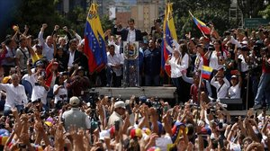 Juan Guaidó, autoproclamado presidente de Venezuela.