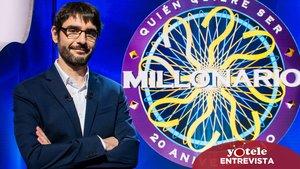 """Juanra Bonet estrena '¿Quién quiere ser millonario?': """"Recuperar este formato en la tele de hoy es un desafío"""""""