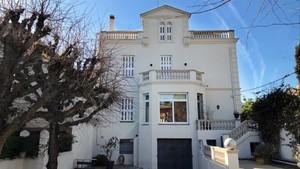 La casa donde vivió la familia Cruyff en Barcelona.