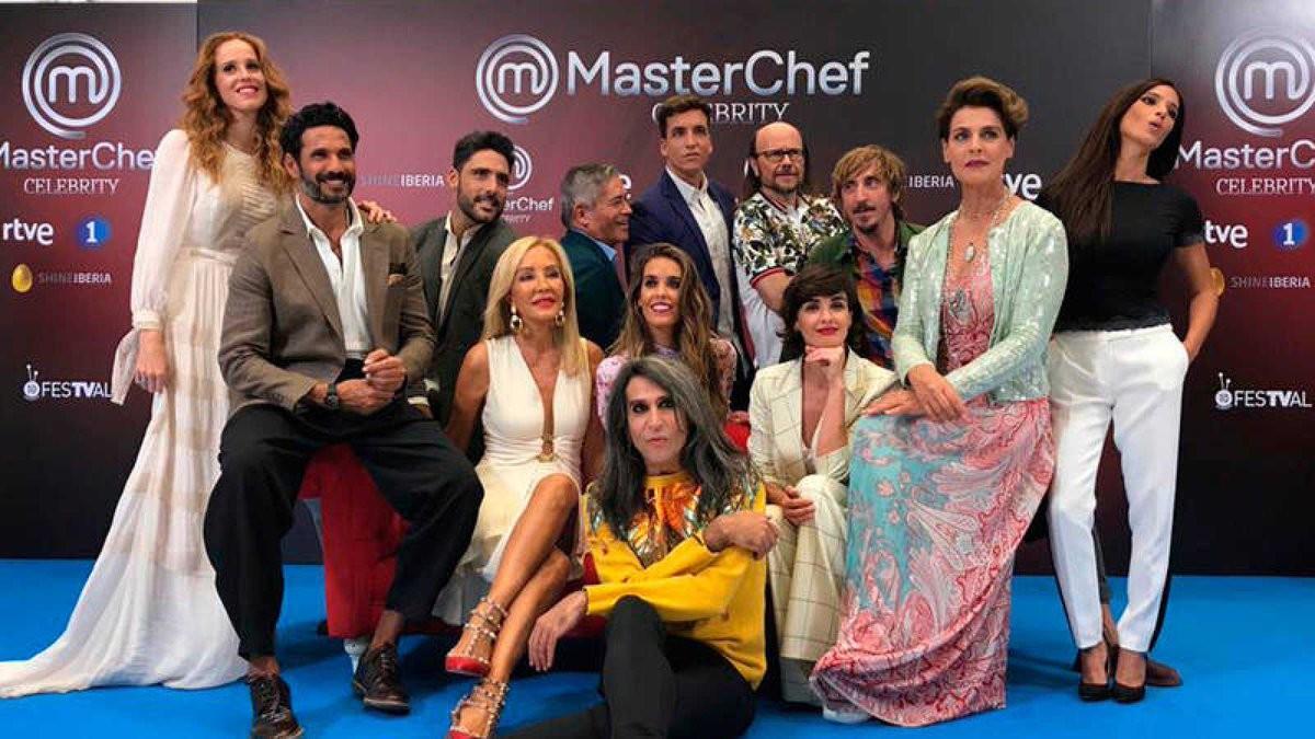 Los concursantes de Masterchef Celebrity 3 en el FesTVal.