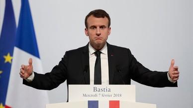 El reconocimiento constitucional de Córcega, única concesión de Macron a los nacionalistas