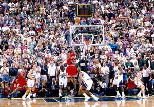 El magnífico tiro que supuso el sexto campeonato de Jordan podría anularse en Utah.