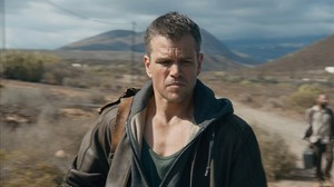 Matt Damon, en una escena de Jason Bourne.