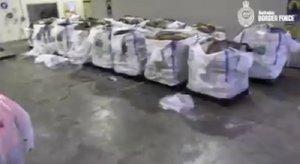 La droga está valorizada en343,8 millones de euros en el mercado negro.